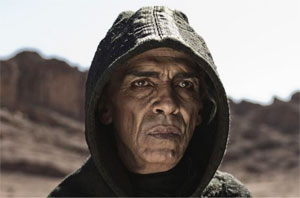 "Satan in the miniseries ""The Bible."" Photo courtesy of the History Channel"
