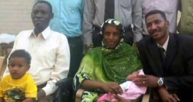 Photo of Charged with fraud, Meriam Ibrahim is rearrested while attempting to leave country