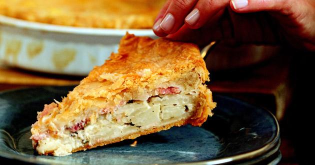 Potato-Bacon Torte