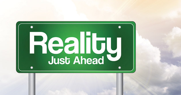 Photo of My reality check bounced!