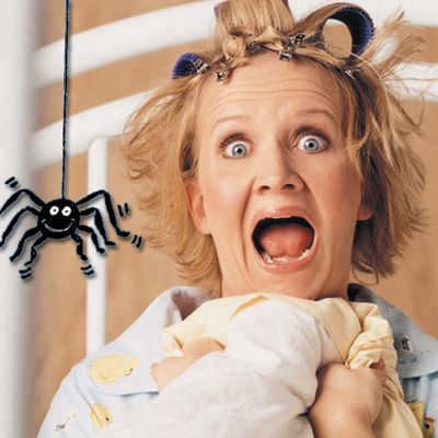 Chonda Pierce, spider