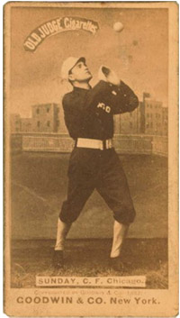 Billy Sunday, Chicago White Stockings