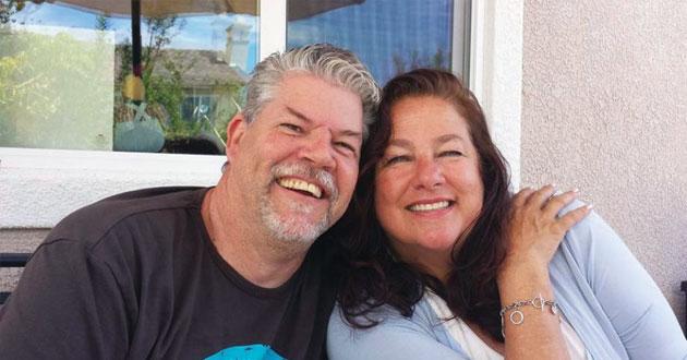 Reg and Nancy Cowie