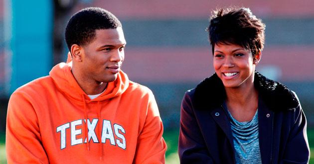 Kevin (Daniel Bellomy) and his mom (Cassandra Freeman)