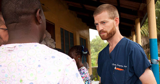 Photo of Facing Darkness details 'miraculous' rescue of Ebola doctor, nurse