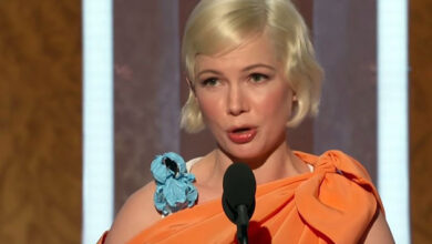 Photo of Michelle Williams credits Golden Globe to 'right to choose'